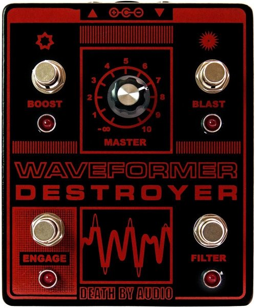Death by Audio Waveformer Destroyer - Fuzz / Overdrive / Distortion