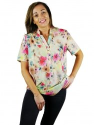 Koszula stójka, bluzka Kreator Studio Mody, r46