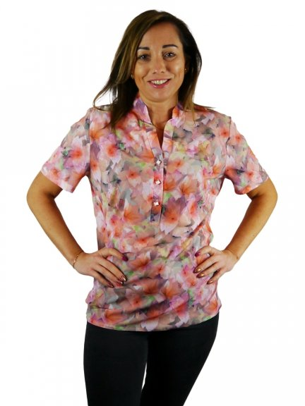 Koszula stójka, bluzka Kreator Studio Mody, r48