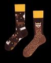 Fluffy Alpaca - Ponožky - Many Mornings