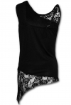 Gothic Elegance - Lace Top Spiral