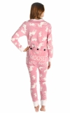 Classic Moose Pink - Flapjack - Piżama Pajac - LazyOne