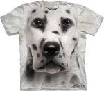 Dalmatian Face Dalmatyńczyk - T-shirt The Mountain