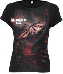 Logo - Blood Hand Walking Dead - Spiral Ladies