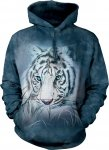 Thoughtful White Tiger - Mikina The Mountain