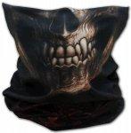 Goth Skull - Kominiarka Buff Spiral