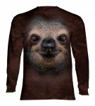 Sloth Face  - Long Sleeve The Mountain