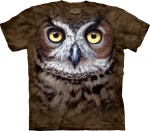 Great Horned Owl Head - The Mountain
