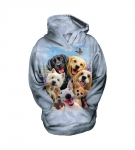 Dogs Selfie - The Mountain - Bluza Junior