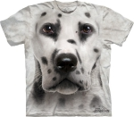 Dalmatian Face Dalmatyńczyk - T-shirt The Mountain