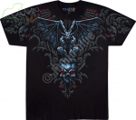 Gargoyle Black - Liquid Blue