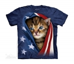 Patriotic Kitten - The Mountain - Junior