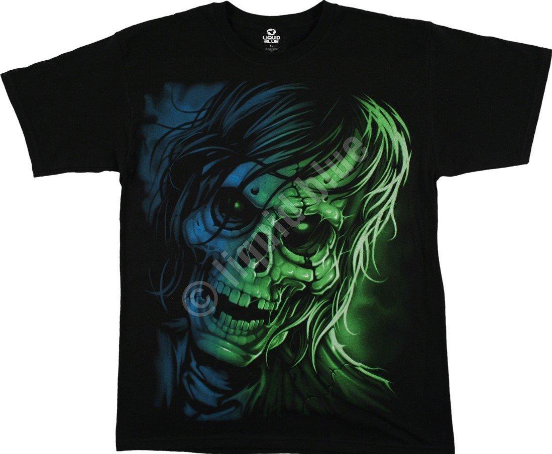 d458bbbb1cd6b5 Sklep veoevo.pl - Koszulki Malowane Pazurem - Zombie - Liquid Blue ...