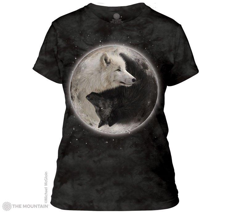 0b19f2632 Sklep veoevo.pl - Koszulki Malowane Pazurem - Yin Yang Wolves - The ...