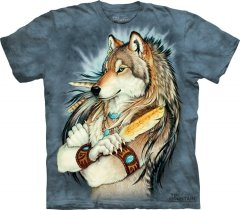 Golden Feather - T-shirt The Mountain