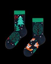 Rezavá Liška - Ponožky Pro Děti - Many Mornings