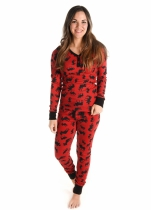 Classic Moose - Thermal Set Ladies LazyOne