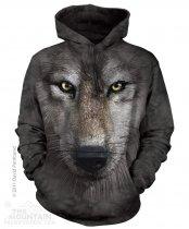 Wolf Face - Wilk - Mikina The Mountain