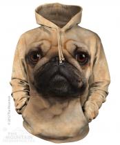 Pug Face - Mops - Mikina The Mountain