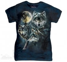 Moon Wolves Collage - The Mountain Damska