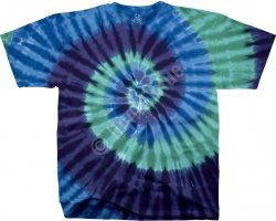 Cool Spiral Unprinted - Liquid Blue