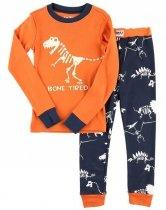 Bone Tired Glow - Pyžamo dětské dlouhý rukáv – LazyOne