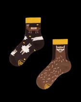 Fluffy Alpaca - Ponožky Pro Děti - Many Mornings
