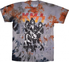 KISS Rock And Roll All Nite - Liquid Blue