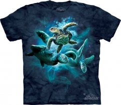 Sea Turtle Collage - The Mountain
