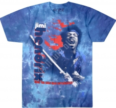 Jimi Hendrix Fire - Liquid Blue