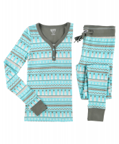 Nordic Snowman - Thermal ladies – LazyOne