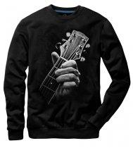 Guitar Head Black - Mikina Underworld