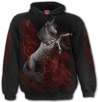 Infernal Unicorn - Mikina -Spiral