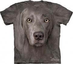 Weimaraner - T-shirt The Mountain