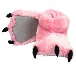Pink Bear Paw Slippers - Bačkory - LazyOne