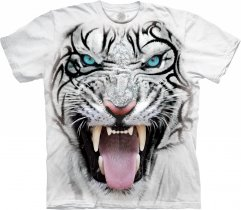 Tribal White Tiger White - The Mountain