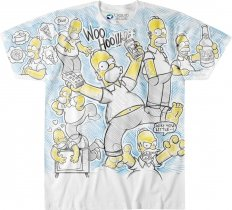 The Simpsons Homer Time - Liquid Blue