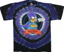 The Simpsons Bartman Concentric - Liquid Blue