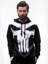 Punisher Comics Character - bluza z kapturem Marvel