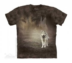 Grey Wolf Portrait - The Mountain - Junior