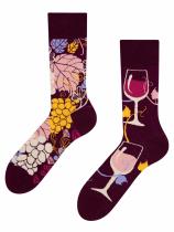 Czerwone Wino - Skarpety Good Mood