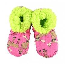 Don't Moose Me Fuzzy Feet - Papcie Dziecięce LazyOne