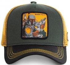 Boba Fett Yellow Star Wars - Czapka z daszkiem Capslab