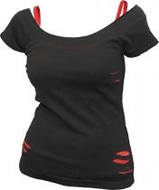Urban Fashion Red 2in1 Spiral - Damska