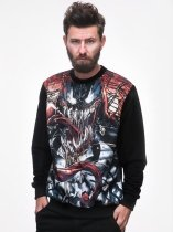 Venom Comics Face - bluza Marvel