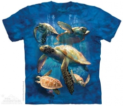 Sea Turtle Family - The Mountain