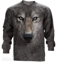 Wolf Face - Long Sleeve The Mountain OUTLET