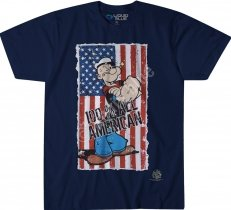 Popeye All American Navy - Liquid Blue
