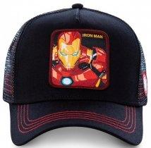 Iron Man Black Marvel - Czapka z daszkiem Capslab