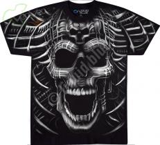 Psycho Skull - Liquid Blue